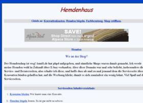 hemdenhaus.de