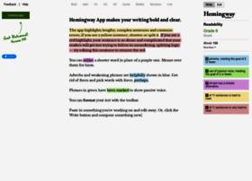 hemingwayapp.com