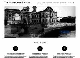 hemingwaysociety.org