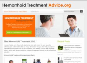 hemorrhoidtreatmentadvice.org