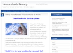 hemroidsremedy.com