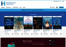henderson.libraryreserve.com