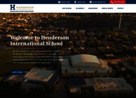hendersonschool.com