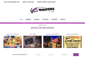hendersonwritersgroup.com
