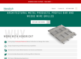 hendrickarchproducts.com