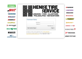 henise.tireweb.com