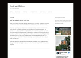 henkvanklinken.nl