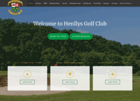 henllysgolfclub.co.uk