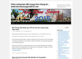 Hennhausaigon2015.wordpress.com