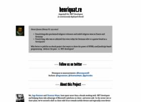 henriquat.re