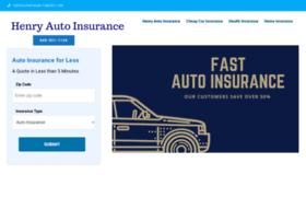 henryautoinsurance.net