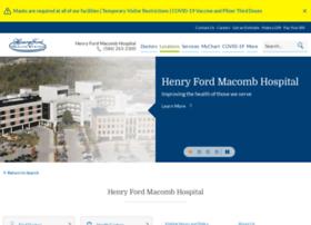 henryfordmacomb.com