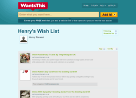 henrystewart.wantsthis.com