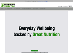 herbalife.co.in info. Herbalife - India - Official Site