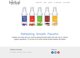 herbalwater.com