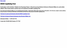 herculesoffshore.com