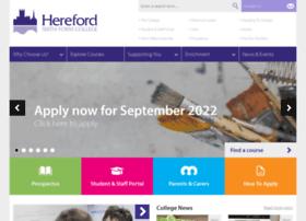 hereford.ac.uk