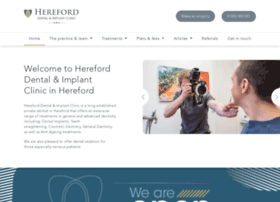 hereforddentist.co.uk