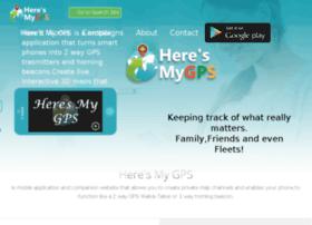 heresmygps.com