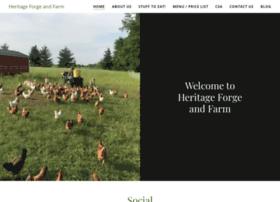heritageforgeandfarm.com