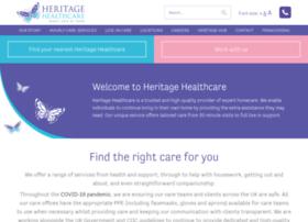 heritagehealthcare.co.uk