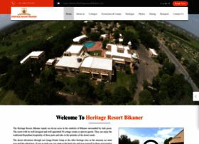 heritageresortbikaner.com