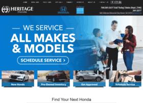 heritageromehonda.com