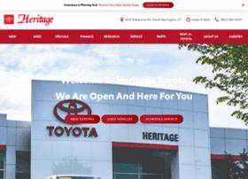 heritagetoyotacars.com