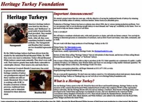 heritageturkeyfoundation.org