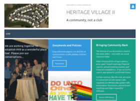 heritagevillageii.wildapricot.org