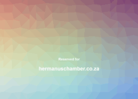 hermanuschamber.co.za