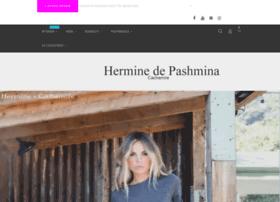 hermine-de-pashmina.fr