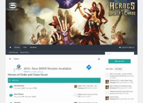 heroesoforderandchaosforum.com