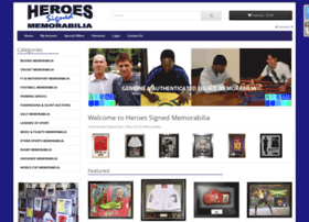 heroessignedmemorabilia.co.uk