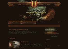 heroeswow.com