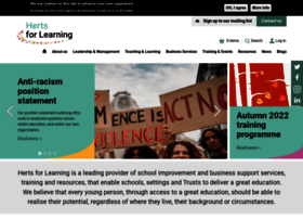 hertsforlearning.co.uk