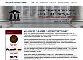 hertzplatepasssettlement.com