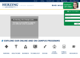 herzing.postclickmarketing.com