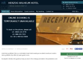 herzog-wilhelm-city.hotel-rez.com