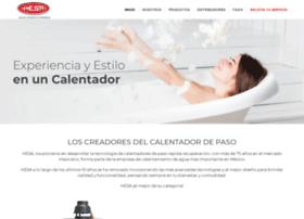 hesacalentadores.com.mx