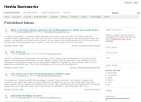 hestiabookmarks.com