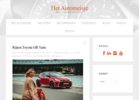 hetautomeisje.nl