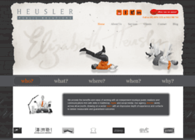 heuslerpublicrelations.com