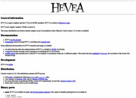 hevea.inria.fr