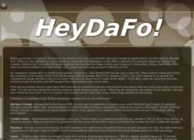 heydafo.com