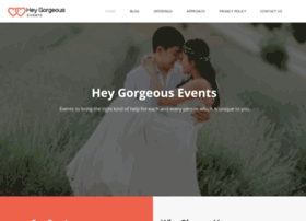 heygorgeousevents.com