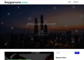 heyguevara.com