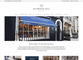 heywoodhill.com