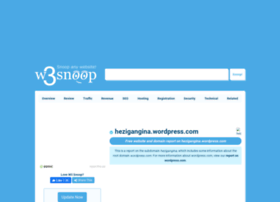 hezigangina.wordpress.com.w3snoop.com