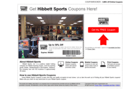 hibbettsports.couponrocker.com